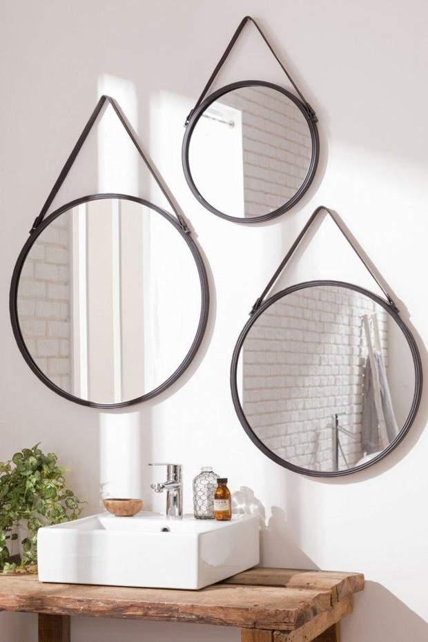 ванна дзеркало дизайн інтерєр