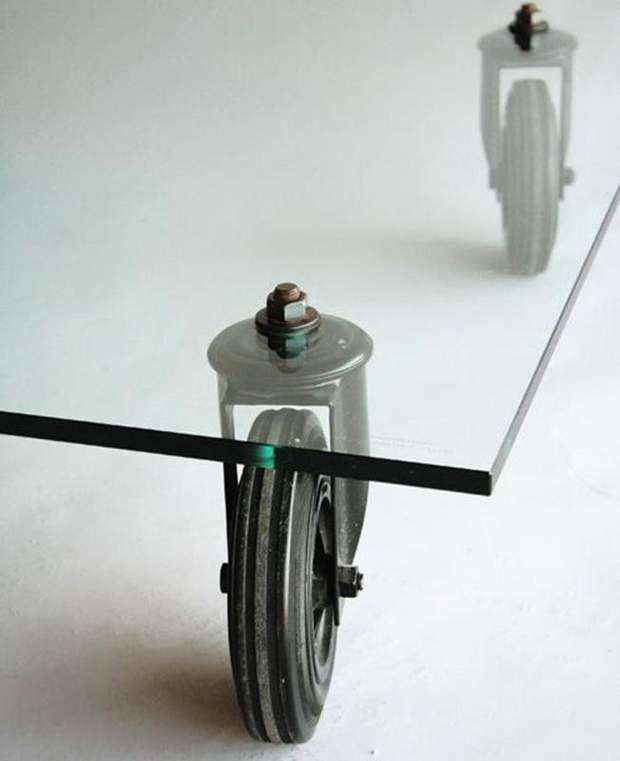 стіл на колесах дизайн інтерєр Мілан