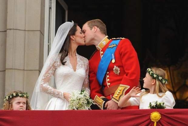 Кейт Міллтон і принц Вільям весілля