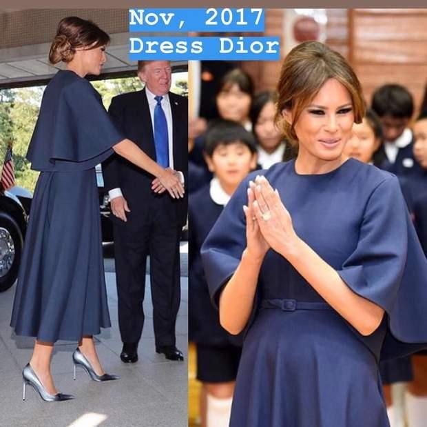 Дональд та Меланія Трамп у Японії