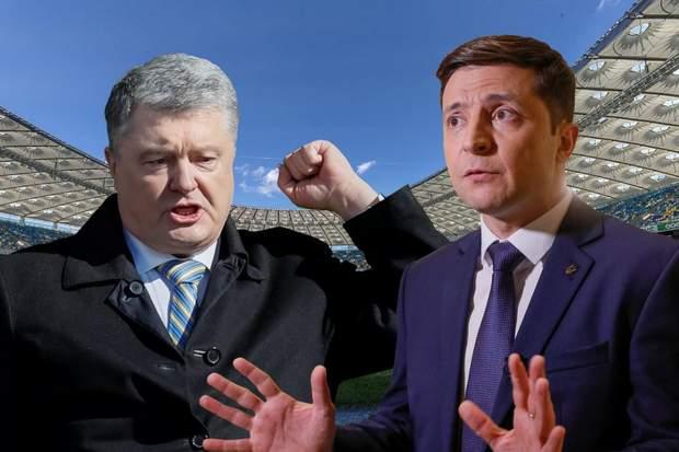 дебати зеленський порошенко