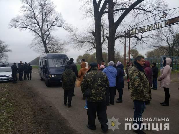 Рейдери Київщина поліція