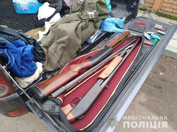 поліція обшуки Київщина зброя рейдерство аграрне підприємство