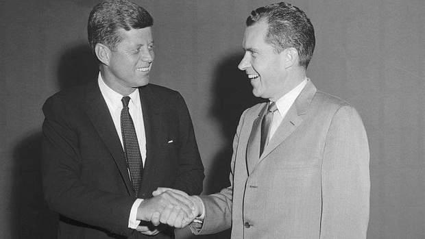 Джон Кеннеді та Річард Ніксон
