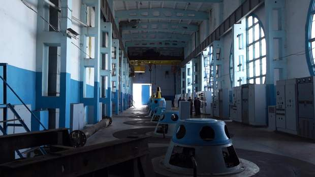 Насосні станції на Донбасі