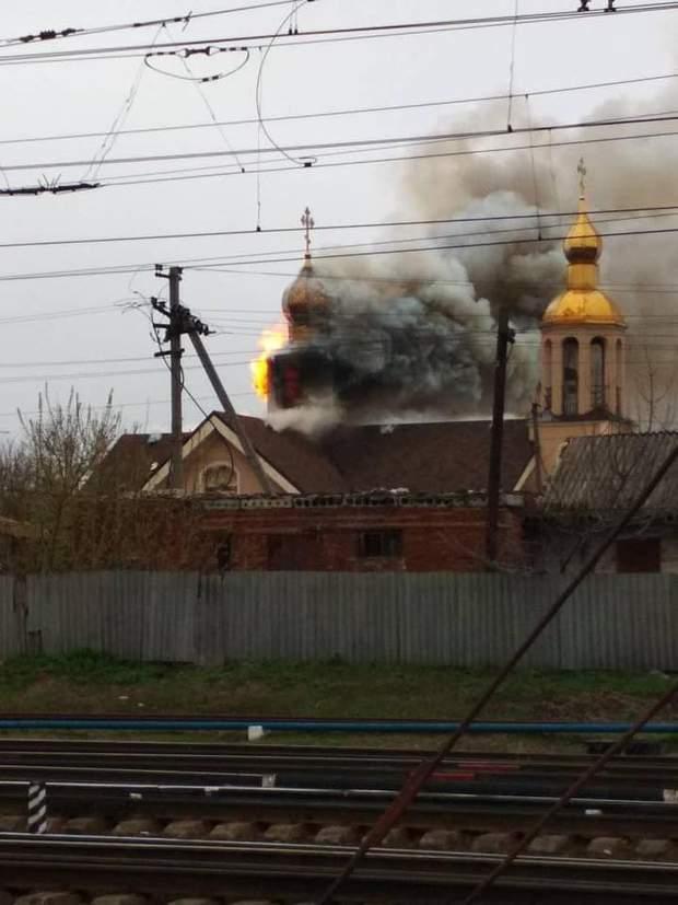 Пожежа, Харківщина, Церква