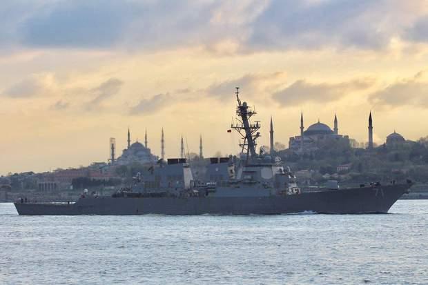 Чорне море, ракетний есмінець, корабель