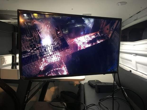 Нотр-Дам, Собор Паризької Богоматері, пожежа, вогонь, збитки