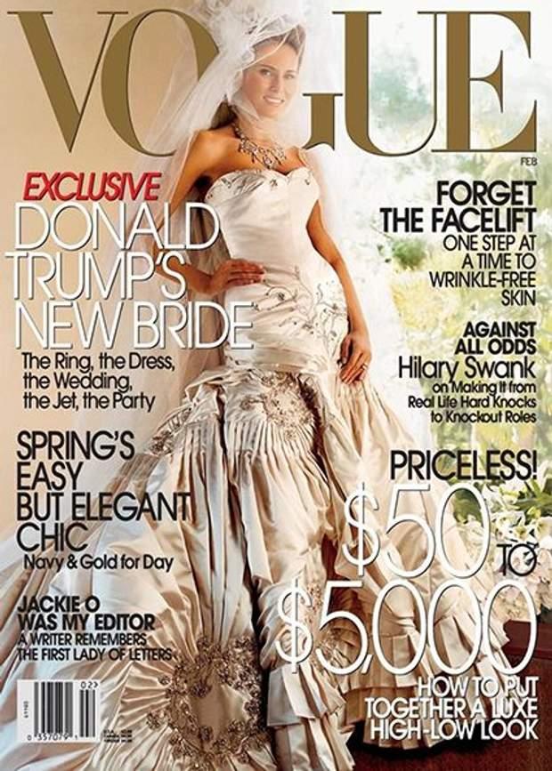 Меланія Трамп знімалась для Vogue