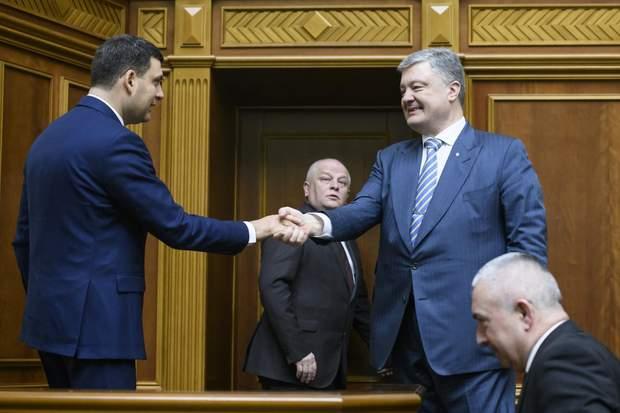 Володимир Гройсман, вибори, парламент