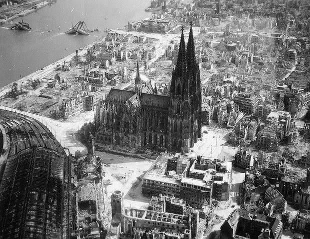 Кельнрський собор Друга світова війна