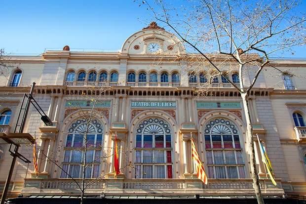 Оперний театр в Барселоні