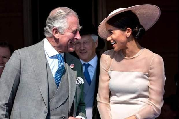 Принц Чарльз і Меган Маркл