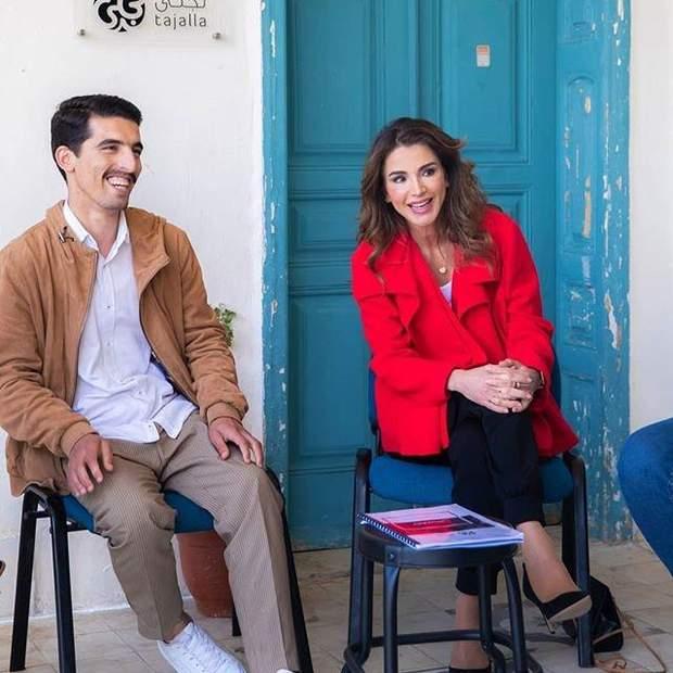 Королева Йорданії поспілкувалась із музикантами