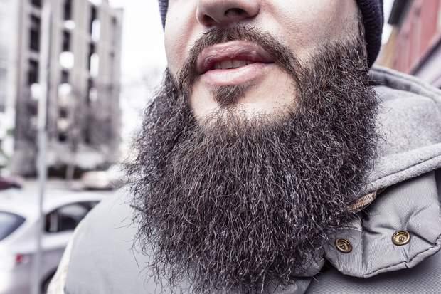 У бороді більше бактерій, ніж у жерсті собак