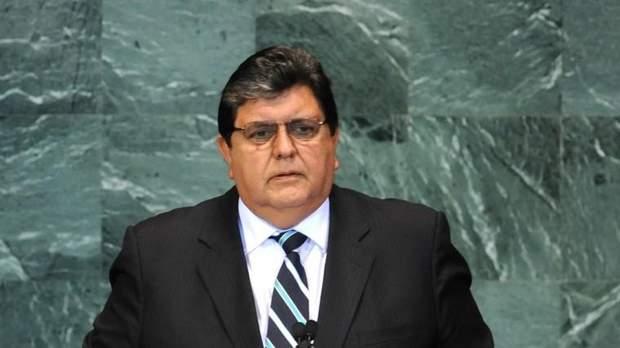 Экс-президент Перу Алан Гарсия