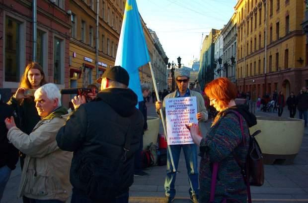 росія протест крим