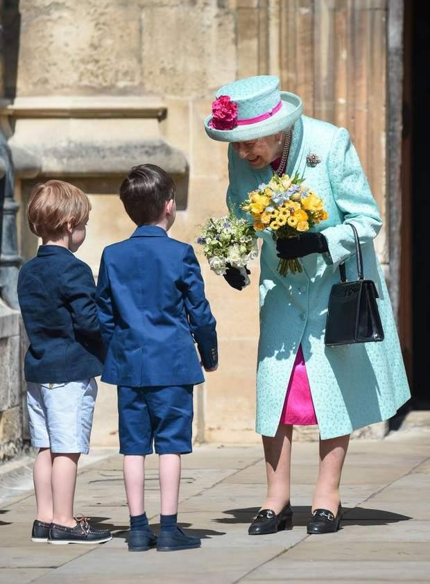 Королева Єлизавета ІІ на день свого народження
