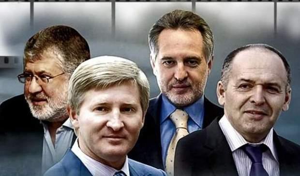 Ахметов, Пинчук, Коломойский и Фирташ