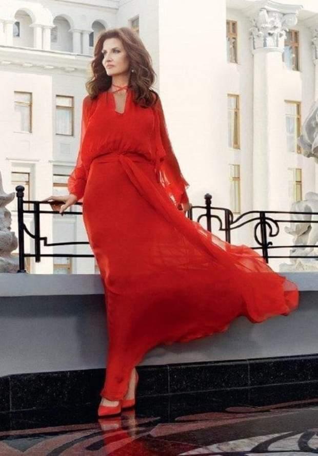 Марина Порошенко для фотосесії журналу ELLE