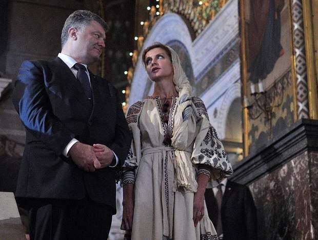 Марина Порошенко цінує та залюбки одягає сукні українських брендів