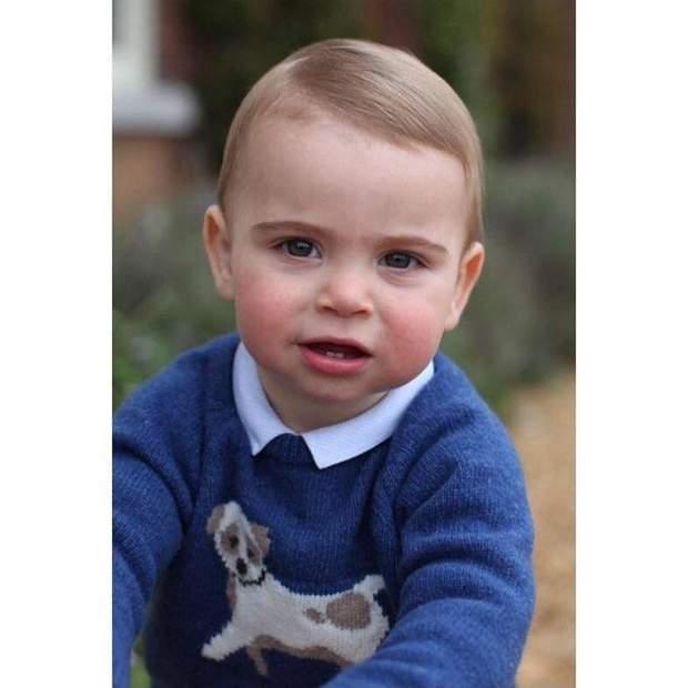 принц Луї син Кейт Міддлтон і Вільяма