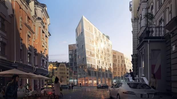 Воздвиженка Київ проект готель