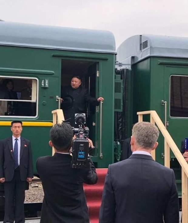 Кім Чен Ин зустріч з Путіним Росія