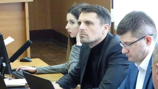 Прокурори даного кримінального провадження Валентин Мусіяка та Максим Кравченко