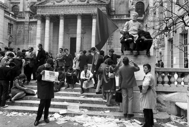 франція сорбон 1968