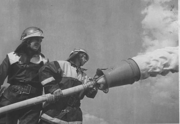 Пожежники, які героїчно гасили полум'я на Чорнобильській АЕС