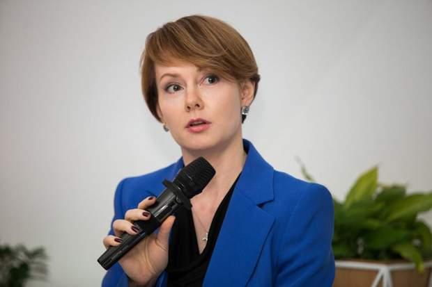 Замминистра иностранных дел Украины Елена Зеркаль