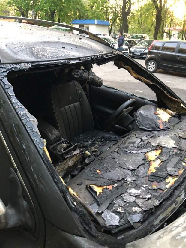 журналісти дніпро підпал пожежа авто