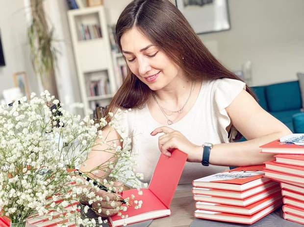 Письменниця Катерина Бабкіна