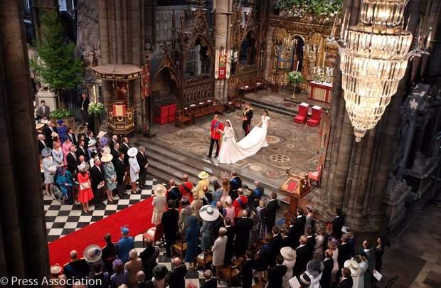 Весілля герцогів Кембриджських