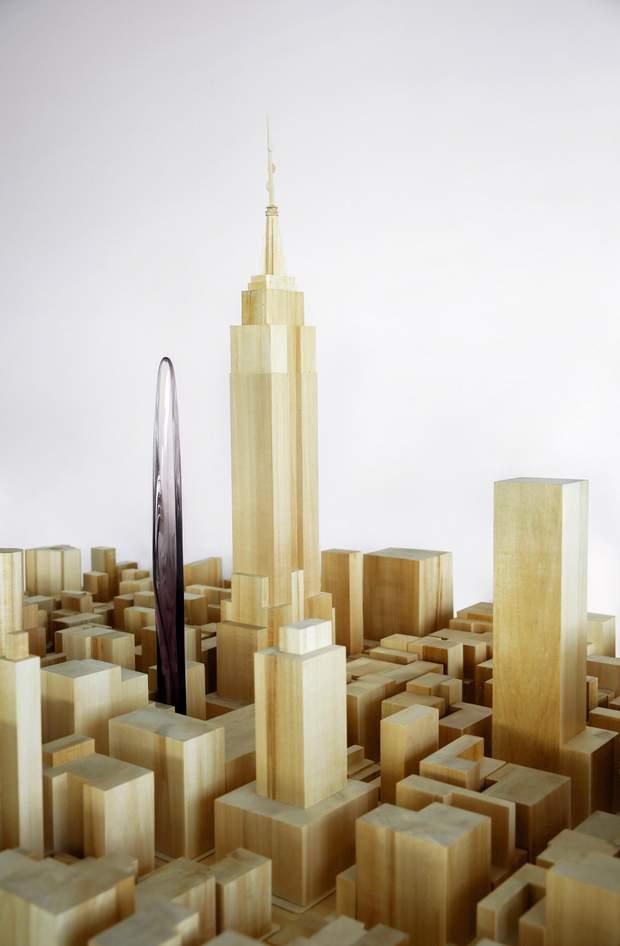 хмарочоси Нью-Йорк проект