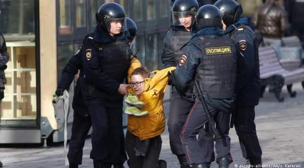Протест школярів у Росії
