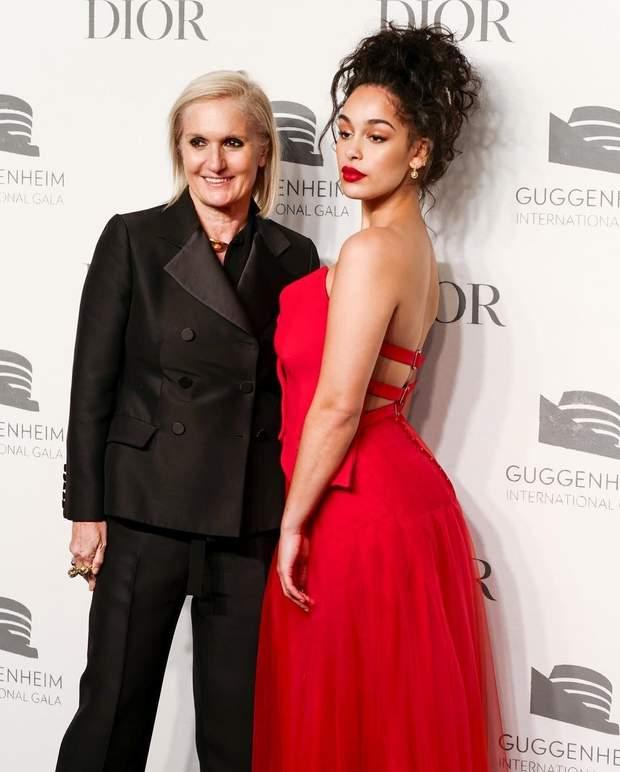 Джорджа Сміт і директор дому Dior