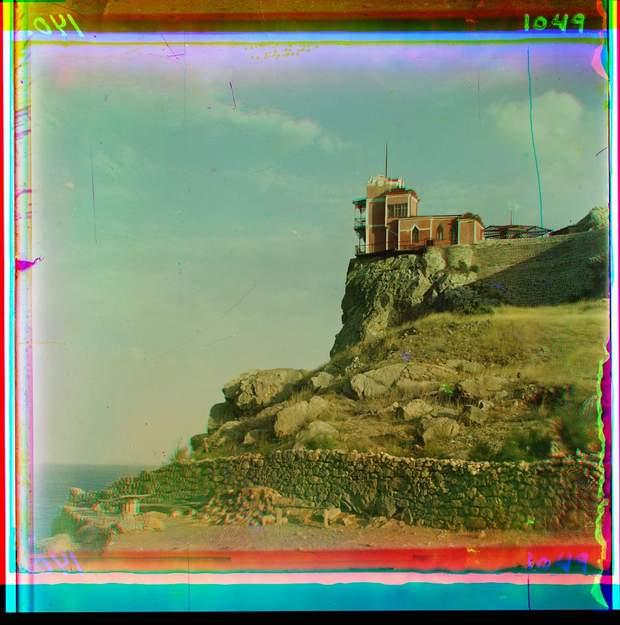 старі фото Україна Крим Ялта Ластівчине гніздо