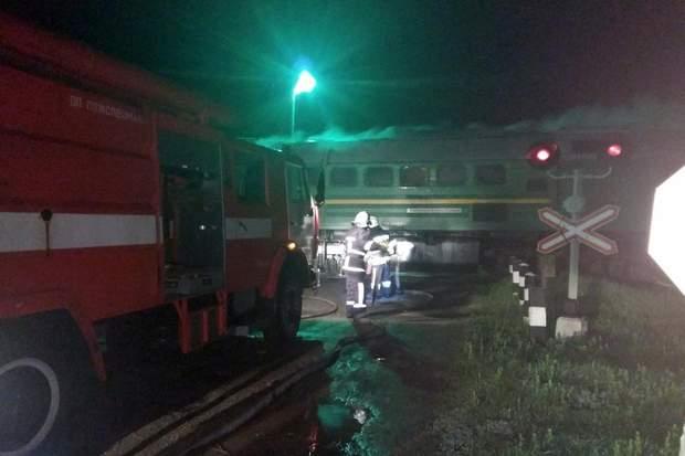 У потязі Чернівці – Київ сталася пожежа