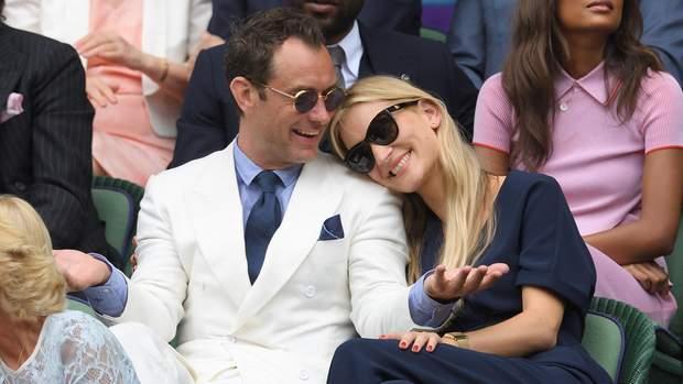 Джуд Лоу з дружиною