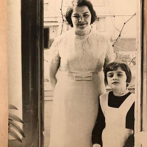 Ольга Сумська в шкільні роки
