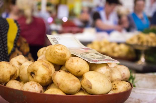 ціни на продукти, вартість овочів