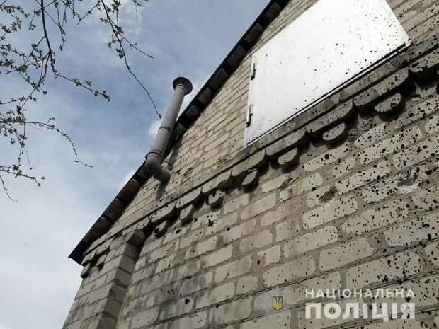 війна на донбасі окупанти обстріл житлові будинки