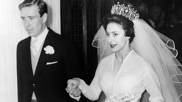 Принцеса Маргарет і її чоловік