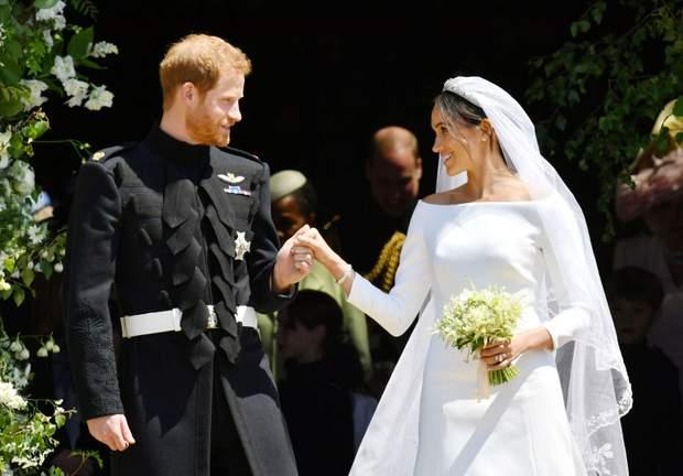 Меган Маркл і принц Гаррі Весілля