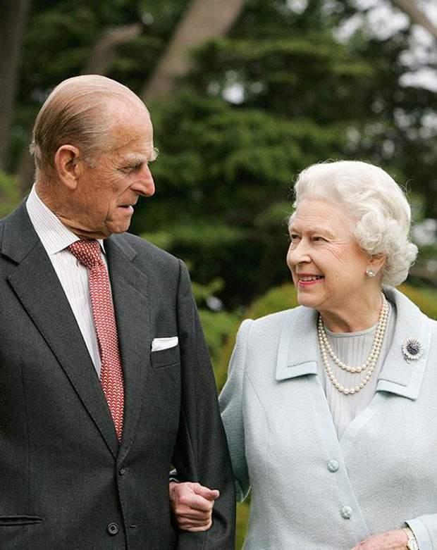 Королева Єлизавета ІІ і її чоловік Філіп