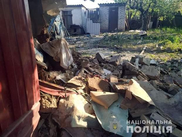 обстріл окупанти україна росія війна на донбасі мар'їнка