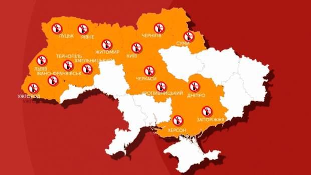 В яких областях України заборонили продавати алкоголь після 23:00