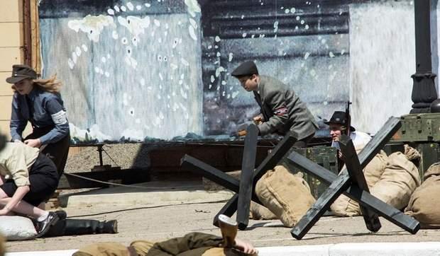 Бойовики в Луганську розіграли